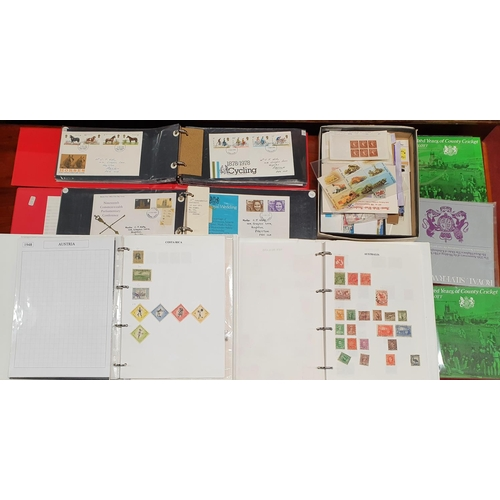 103 - A large quantity of Stamps, European, Irish and others....