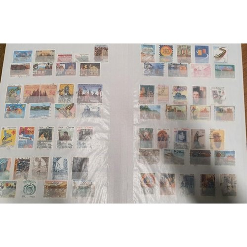 113 - A full stockbook of Spanish and Italian Stamps....