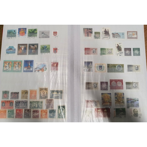 114 - A full stockbook of northern European Stamps....