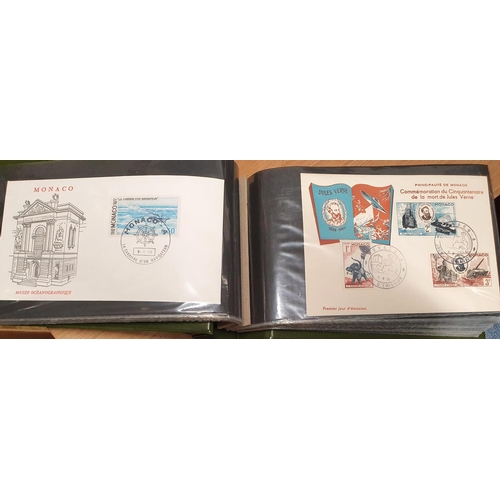 117 - A large quantity of world Stamps in stock books also to include a large quantity of First Day Covers...