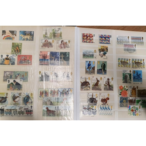 118 - A large quantity of Great Britain and Irish Stamps in stock books....