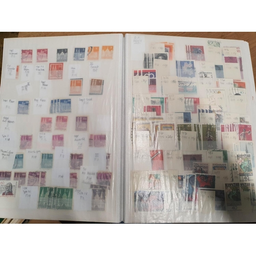 120 - A large quantity of Germany Stamps from 1948 - 1970 in one stock book....