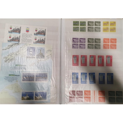 121 - A large quantity of European and World Stamps in various stock books....