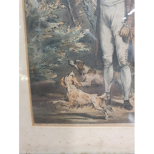 25 - A really good pair of 18th Century hand coloured engravings painted by W. Williams and engraved by F...