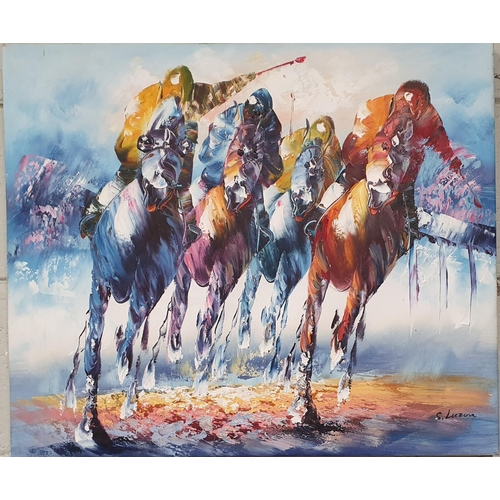 34 - A Limited Edition signed coloured Print 1979 by Peter Curling along with another Vanity Fair coloure...