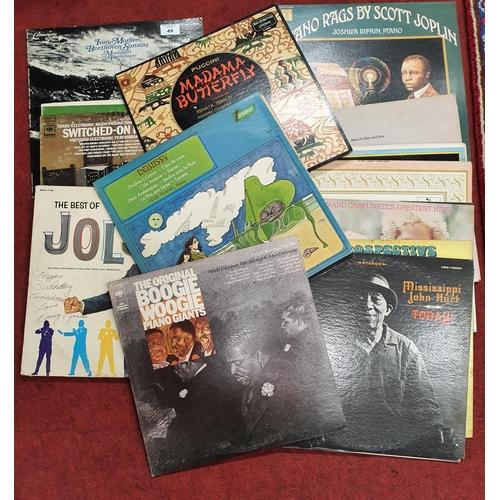 49 - A good quantity of LP's.