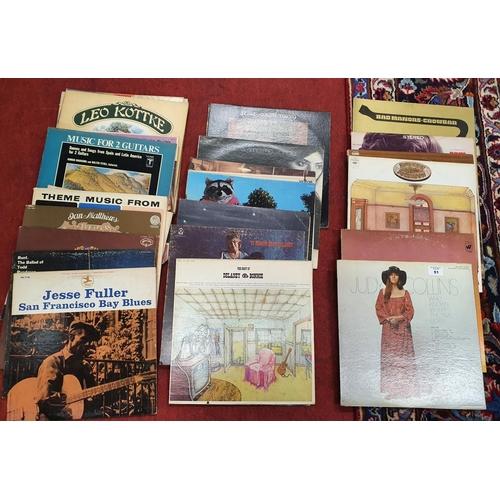 51 - A good quantity of LP's.