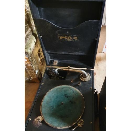 59 - A Vintage Gramophone.
