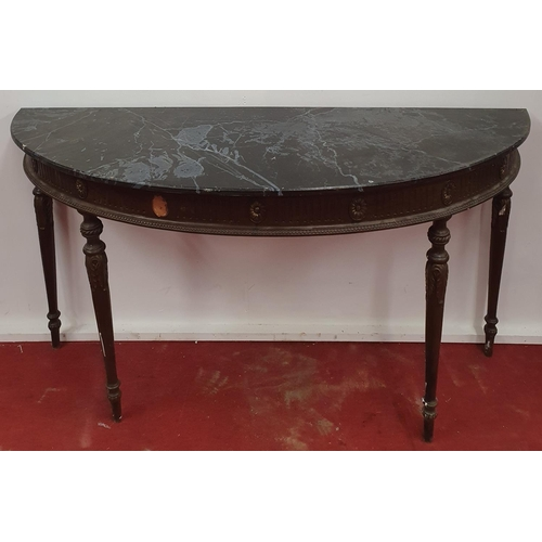 529 - Paris Cathedral Table. 154W x 57D x 85H cms approx.