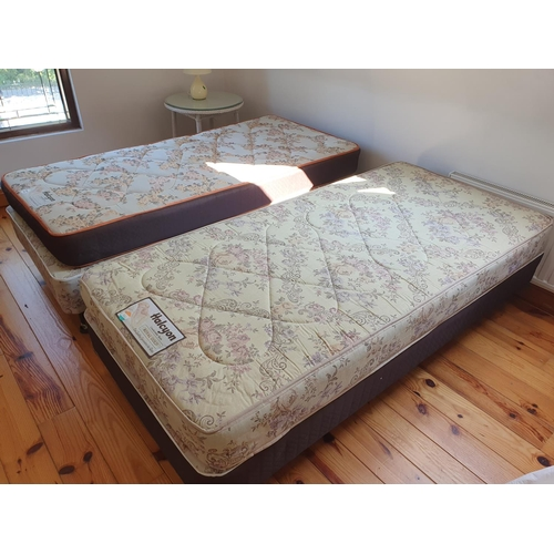 31 - A pair of Halcyon Single Beds.