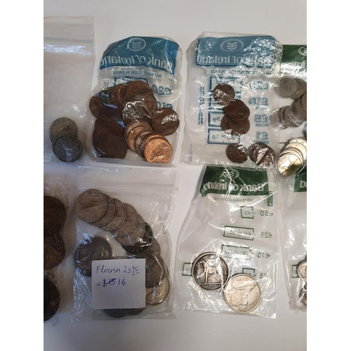 10 - A large quantity of Old Irish Coinage, various dates and denomination.