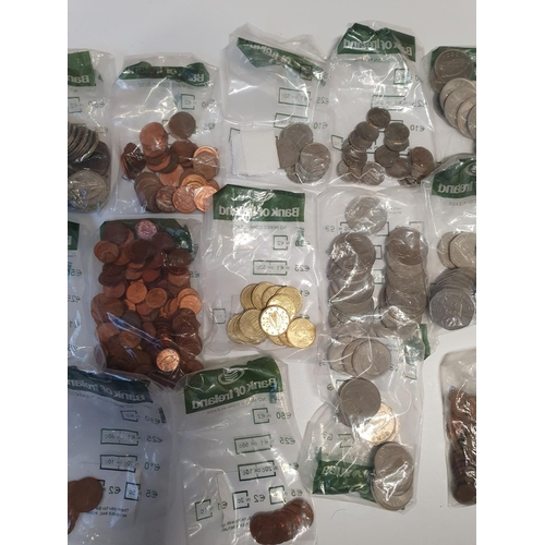 11 - A very large quantity of Irish decimal and euro Coinage various dates and denominations.