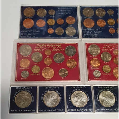 12 - A large quantity of British Mint sets and commemorative Coinage.