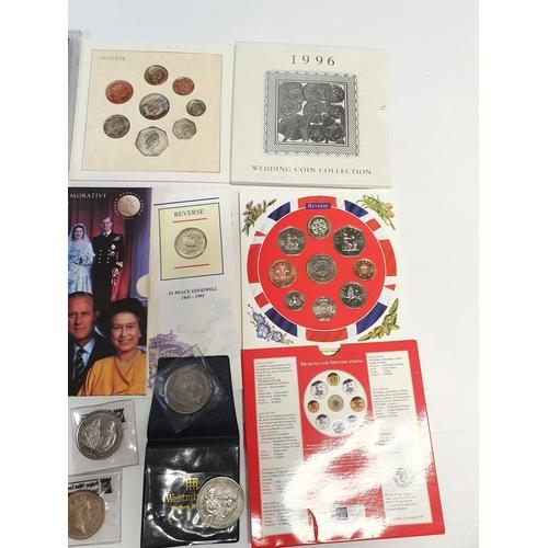 13 - A good quantity of Commemorative British Coinage.