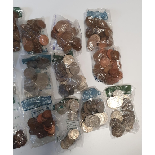 17 - À very large quantity of British Coinage, various dates and denominations.