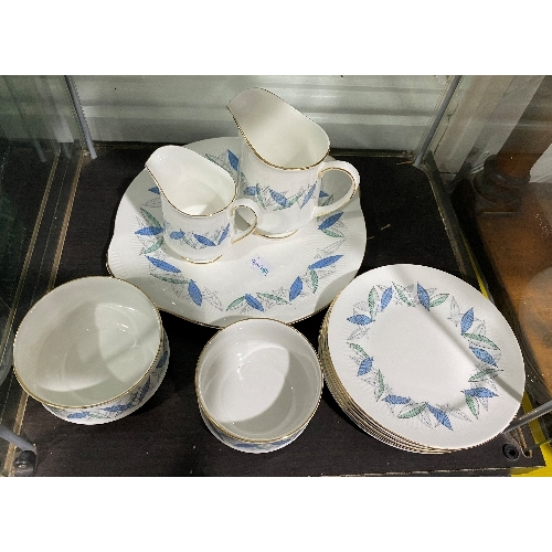3 - A Royal Standard 'Trend' pattern Part Tea and Coffee Service, comprising six Tea Cups, four Coffee C...