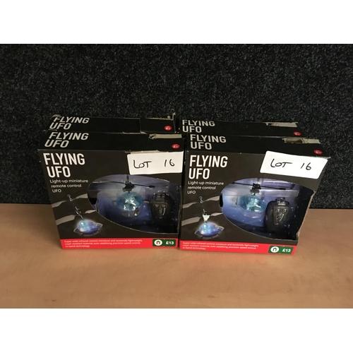 16 - 5x UFO remote control toys £65...