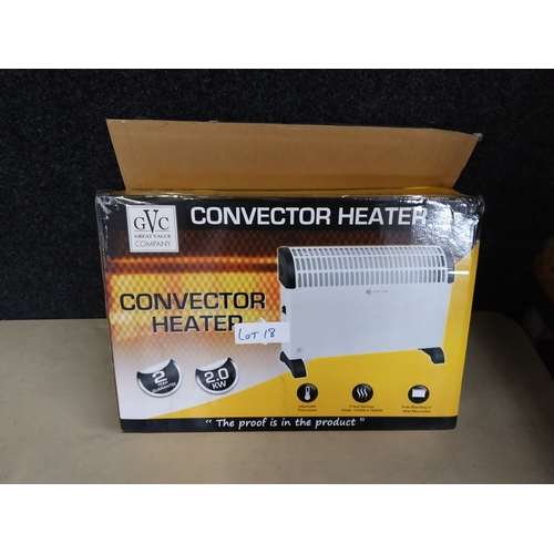 18 - convection heater...