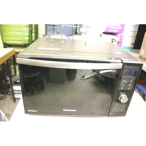 49 - PANASONIC INVERTER MICROWAVE/GRILL AND CONVECTION OVEN...