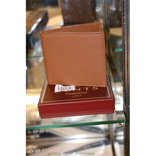 5 - BOXED DENTS LEATHER RFID SECURITY WALLET...