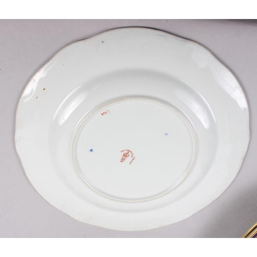 3 - A pair of Royal Crown Derby Imari pattern dinner plates, 10