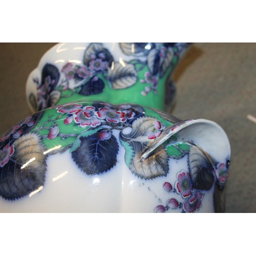 53 - A Davenport floral decorated toilet jug, 14