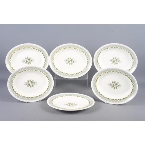 2 - A set of six Wedgwood Ravilious design