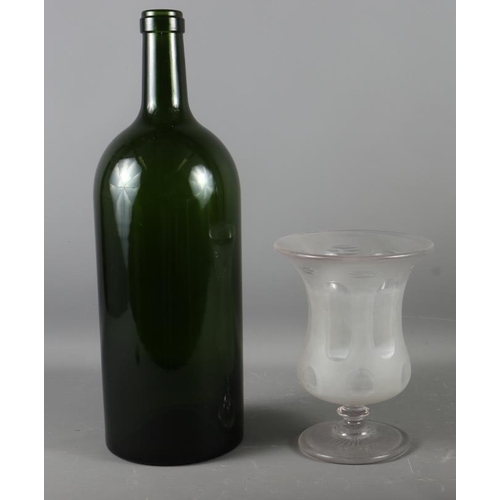 16 - A Bordeaux Jeroboam wine bottle, 18