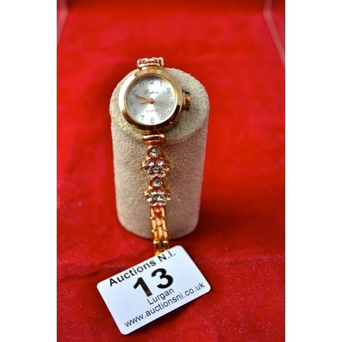 13 - New Floral Bracelet Watch...
