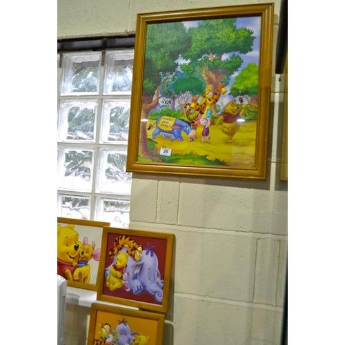 25 - Disney Framed Print x 4...