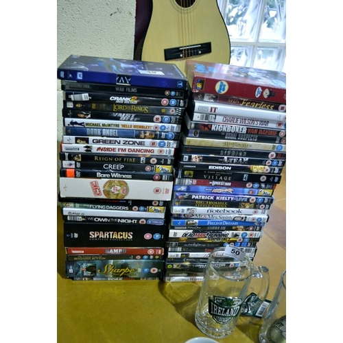 49 - Large Collection of DVDs...
