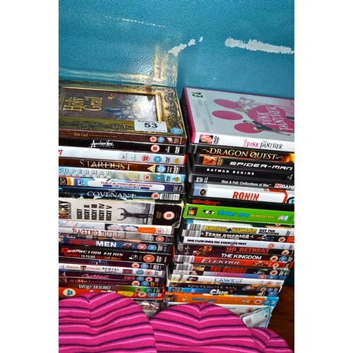 53 - Large Collection of DVDs...