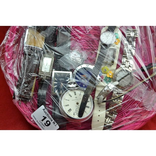 19 - Collection of Watches...