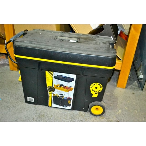 33 - Large Toolbox on Wheels...