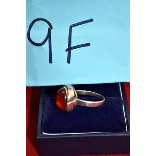 9F - Silver 925 Ring...
