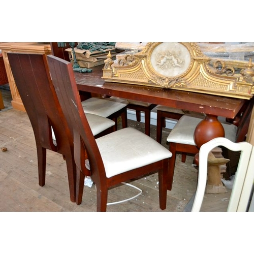 19 - Dining Table + 6 Chairs...