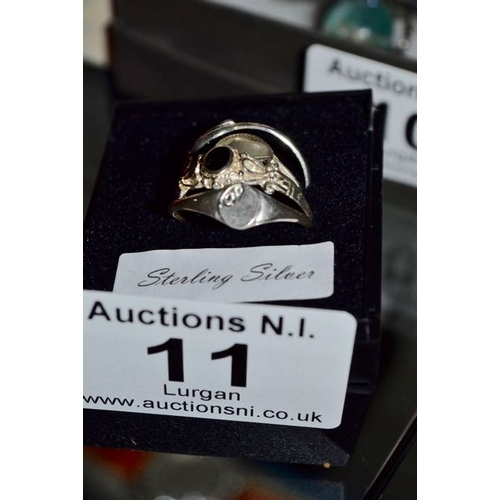 11 - Silver Ring x 4...