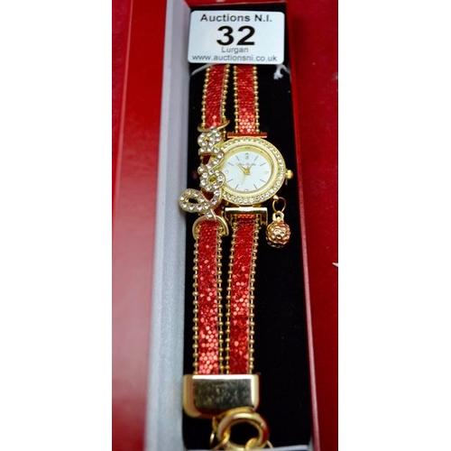 32 - Love Bracelet Watch...