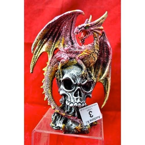 3 - Dragon on Skull...