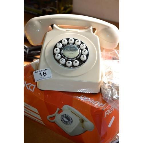 16 - Reka 1960s Style Telephone...