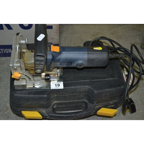 19 - Pro 600w Biscuit Jointer...