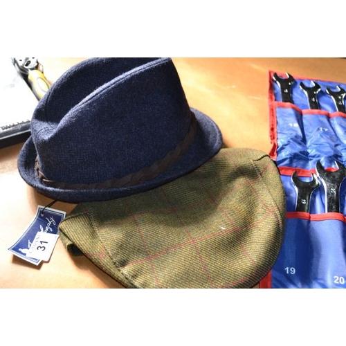 31 - Jack Murphy Hat x 2...