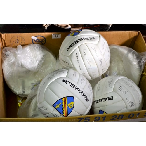 42 - Lot of New Armagh 2000 Squad Balls...