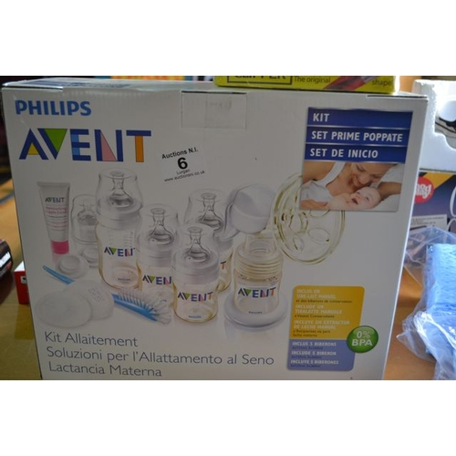 6 - Philips Event Breast Feeding Starter Kit...