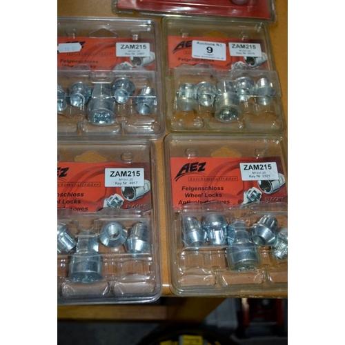 9 - 4x New Wheel Nut Pack...