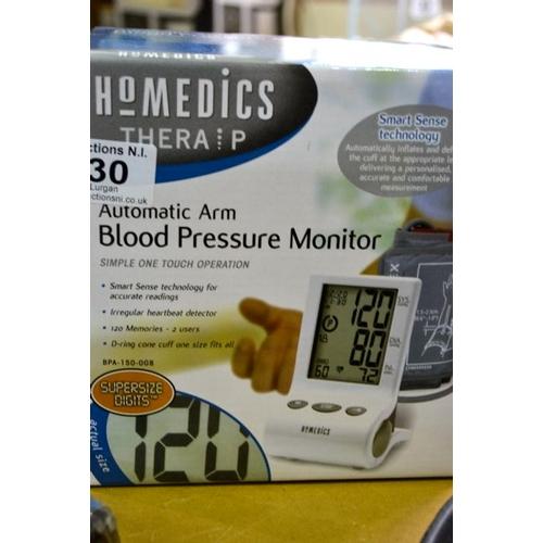 30 - Homedics Automatic Arm Blood Pressure Monitor...