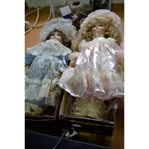 32 - Porcelain Doll in Box x 2...