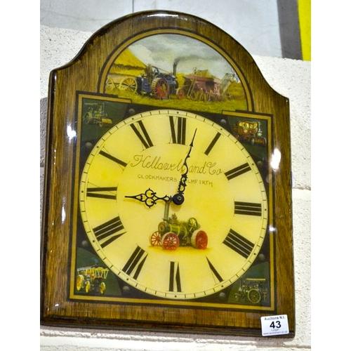 43 - Wall Clock x 2...