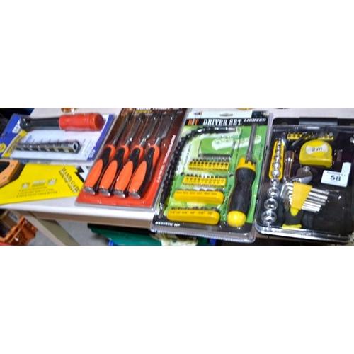 58 - New Tool Set x 5...