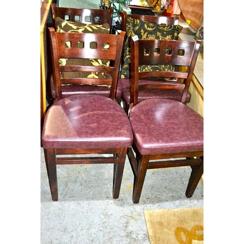 541 - Set of 4 Chairs...